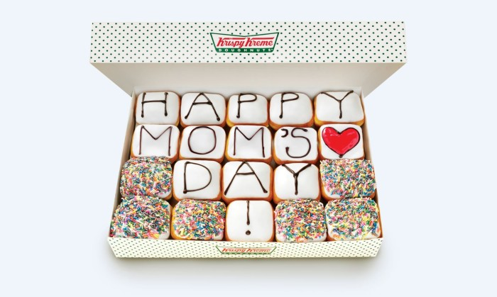 Krispy Kreme Happy Mother's Day