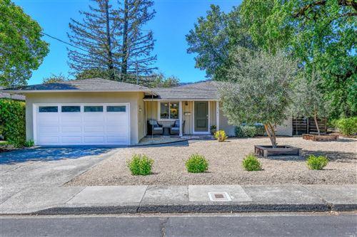 Photo of 1191 Hudson Avenue, Saint Helena, CA 94574 (MLS # 321031831)
