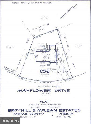 Photo of 1433 MAYFLOWER DR, MCLEAN, VA 22101 (MLS # VAFX1146554)