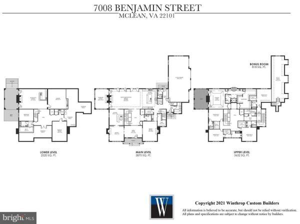 Photo of 7008 BENJAMIN ST, MCLEAN, VA 22101 (MLS # VAFX1152910)