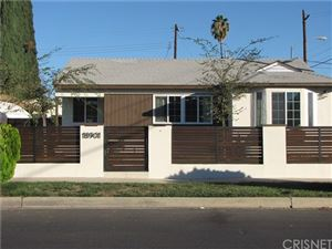 Photo of 18901 Valerio Street, Reseda, CA 91335 (MLS # SR19240370)