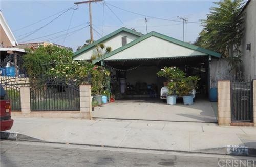 Photo of 4117 Fisher Street, East Los Angeles, CA 90063 (MLS # SR20225756)