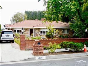 Photo of 4926 WOODLEY Avenue, Encino, CA 91436 (MLS # SR19139443)
