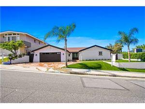 Photo of 22870 PAUL REVERE Drive, Calabasas, CA 91302 (MLS # SR19076550)