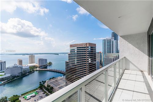 Photo of 500 BRICKELL AVE #4101, Miami, FL 33131 (MLS # A10388323)