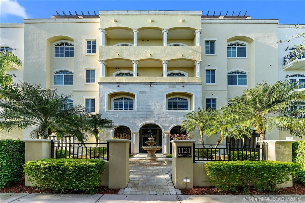 Photo for 1121 Madruga Ave #203, Coral Gables, FL 33146 (MLS # A10593846)
