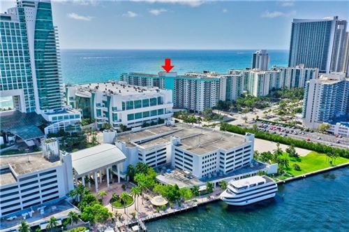 Photo of 3725 S Ocean Dr #1421, Hollywood, FL 33019 (MLS # F10243062)