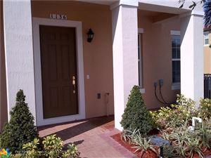 Photo of 1330 SW 147 TERRACE #1330, Pembroke Pines, FL 33027 (MLS # F10131355)