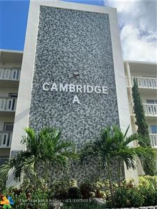 Photo of 1011 Cambridge A #1011, Deerfield Beach, FL 33442 (MLS # F10202459)