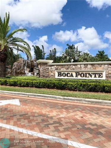 Photo of 6691 Montego Bay Blvd #E, Boca Raton, FL 33433 (MLS # F10231817)