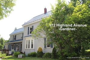 Photo of 172 Highland Avenue, Gardiner, ME 04345 (MLS # 1424736)