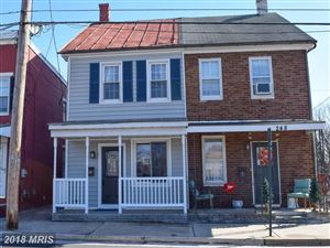 Photo of 246 CARROLL ST S, FREDERICK, MD 21701 (MLS # FR10156943)