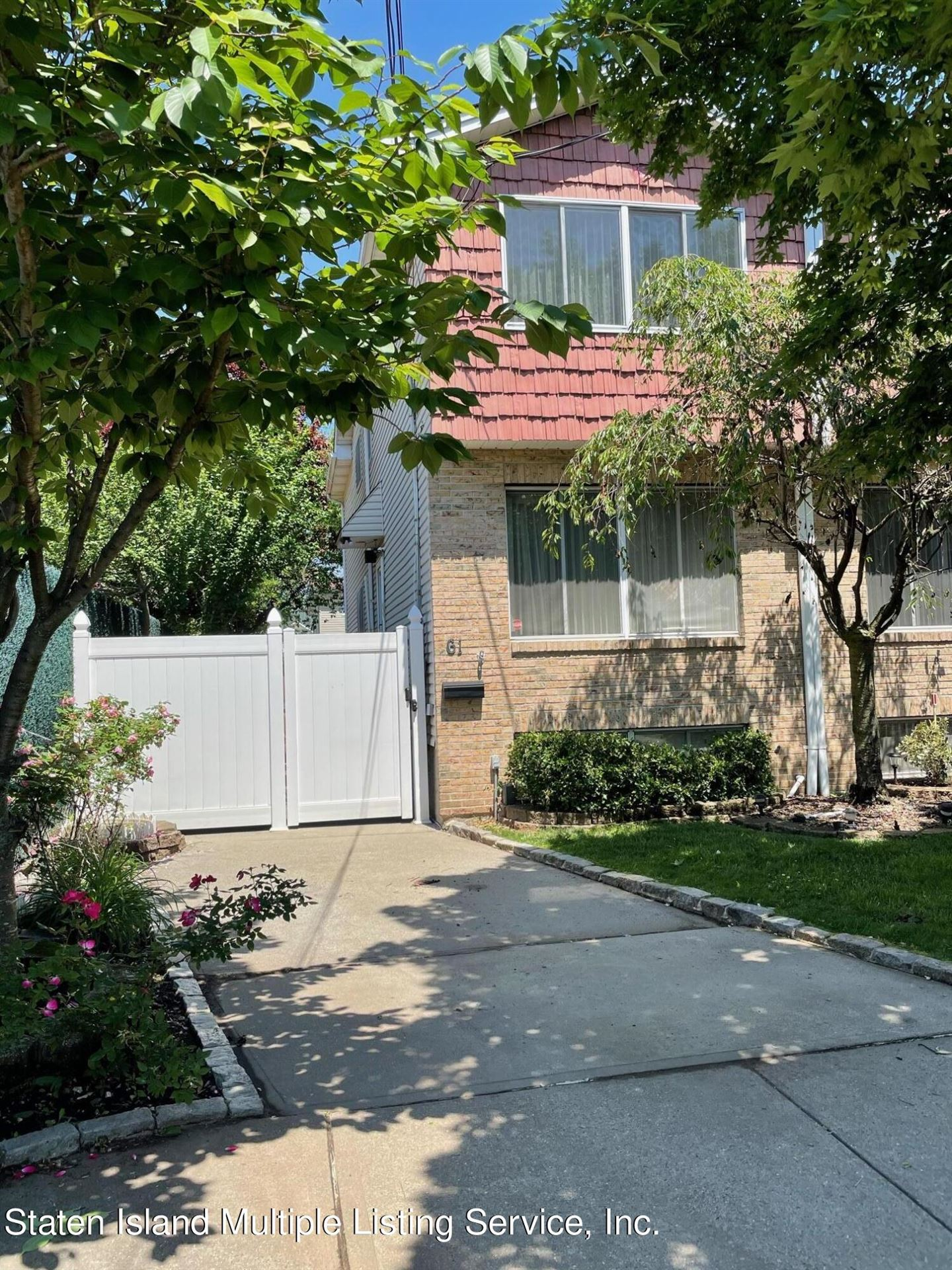 Photo for 61 Butler Place, Staten Island, NY 10305 (MLS # 1146411)