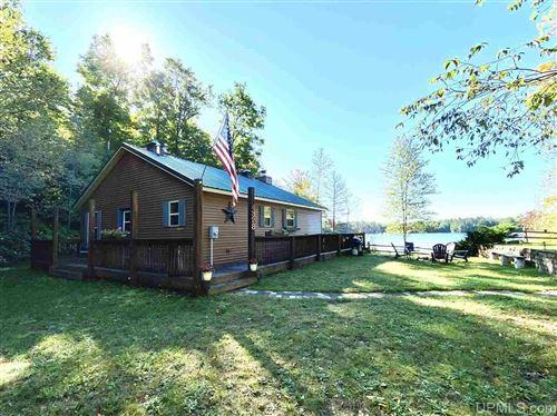 Photo of N4328 Powell Lake, Wetmore, MI 49895 (MLS # 1129874)