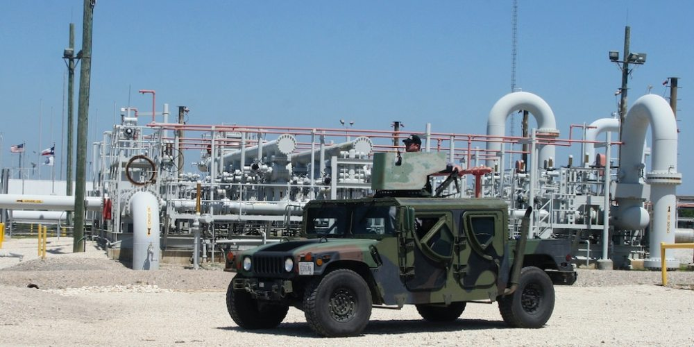 US petroleum reserve guard oil gas