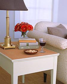 Cork-Top Table