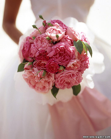 Bouquet of the day….love the shades of pink!