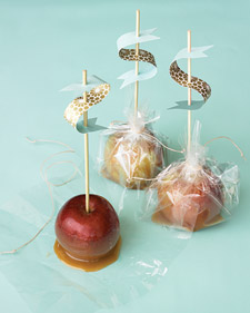 sweet caramel apples