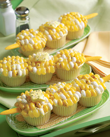 Corn-on-the-Cob Cupcake