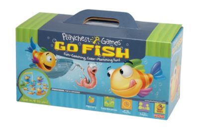 Mattel Games  Family Board Games   Kids Card Games   Mattel Shop Playchest Games Go Fish