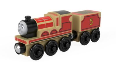 Thomas   Friends Wood James Toy Train   FHM40   Fisher Price Image for T F WOOD JAMES from Mattel