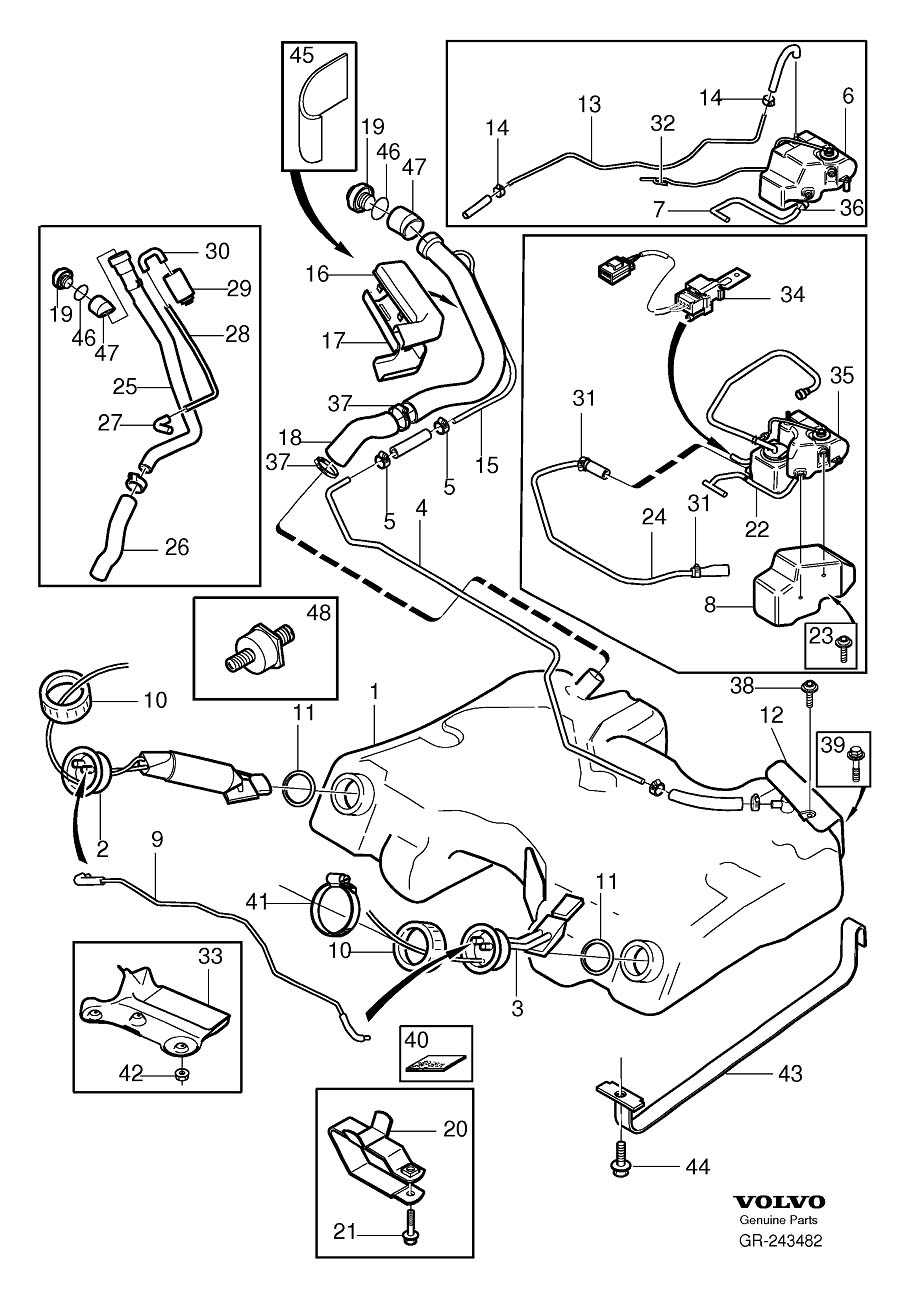 fuel pump parts diagram?resize=665%2C953&ssl=1 volvo wiring diagrams volvo f12 wiring diagram volvo wiring,Alpine Mrp F250 4 Channel Amp Wiring Diagram
