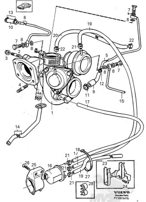 Vacuum Hose Diagrams  19942000 FWD Turbos