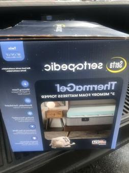serta soothing cool mattress topper