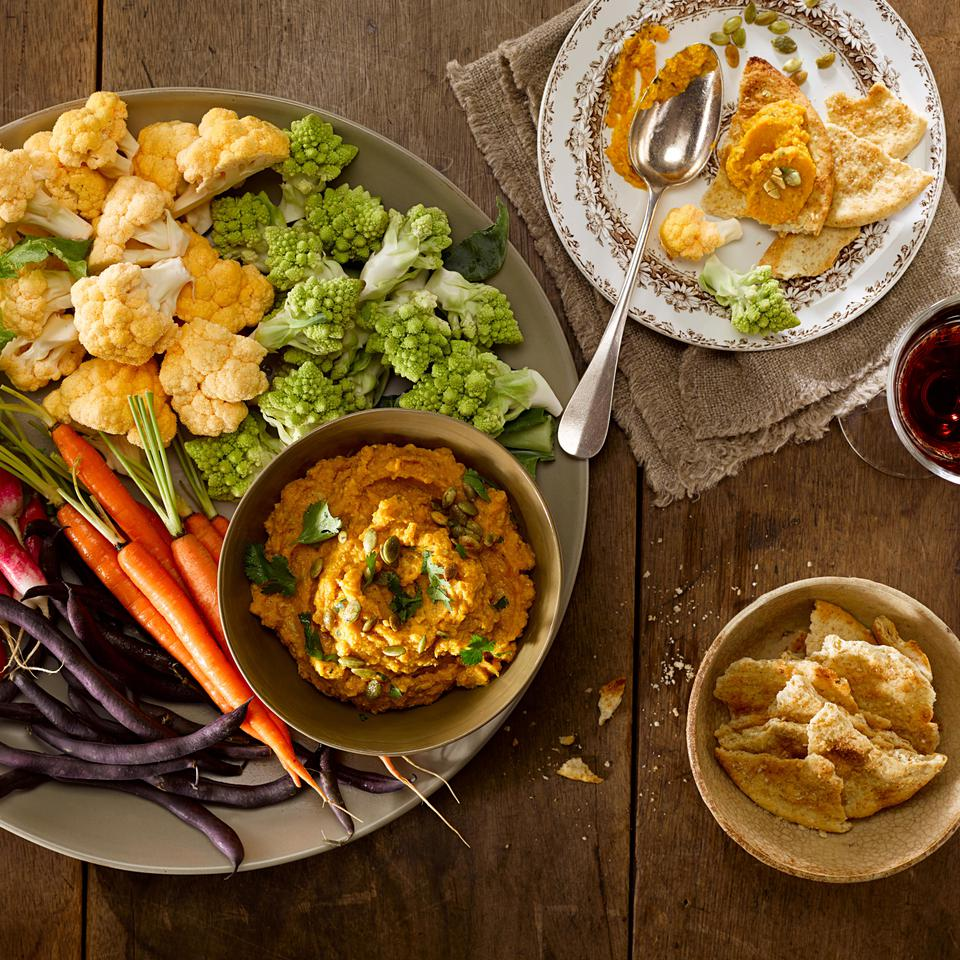 Healthy Thanksgiving Dip & Spread Recipes