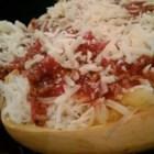 Baked Spaghetti Squash Lasagna Style Recipe