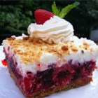 Raspberry Icebox Cake - What a lovely refreshing dessert for those hot summer days.