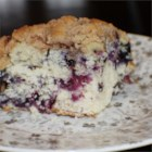 Blueberry Buckle - I make this at least twice when blueberries are in season. Makes a great coffeecake or dessert.