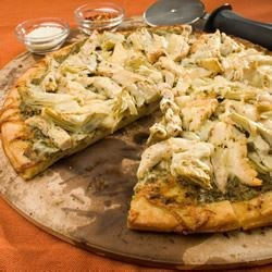 Chicken Pesto Pizza Recipe