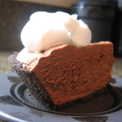 Rich Chocolate Truffle Pie Recipe