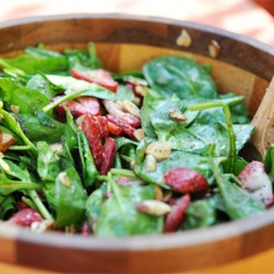 Strawberry Spinach Salad I Recipe