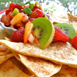 Annie's Fruit Salsa and Cinnamon Chips Recipe