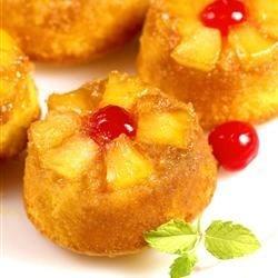 Pineapple Upside Down Cupcakes Recipe