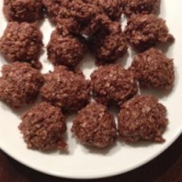 Healthier No Bake Cookies I