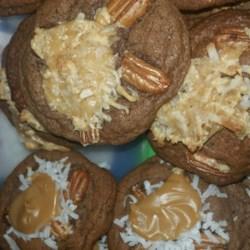Easy German Chocolate Cake Cookies