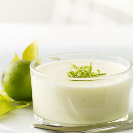 Chilled Key Lime Mousse