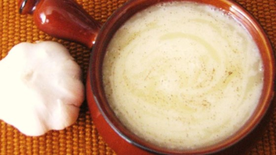 Thick Style Lebanese Garlic Sauce Recipe   Allrecipes com Photo of Thick Style Lebanese Garlic Sauce by