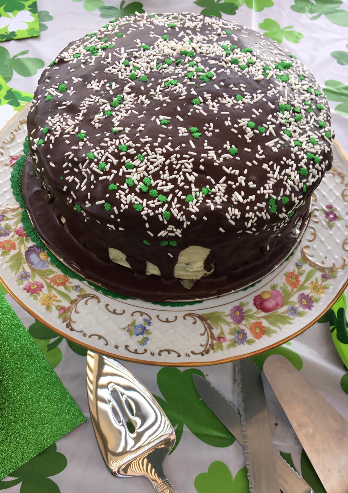 Perfect St Patrick S Day Cake Recipe Allrecipes