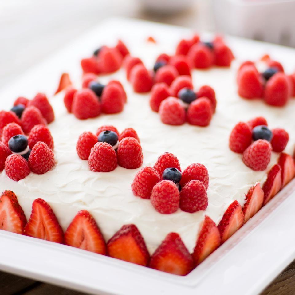 Healthy Birthday Cake