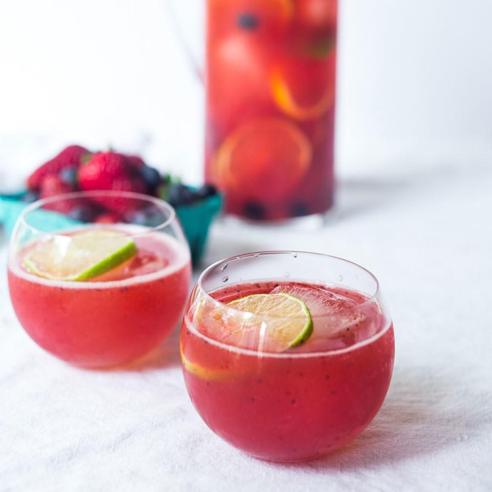 Summer Berry Citrus Spritzer