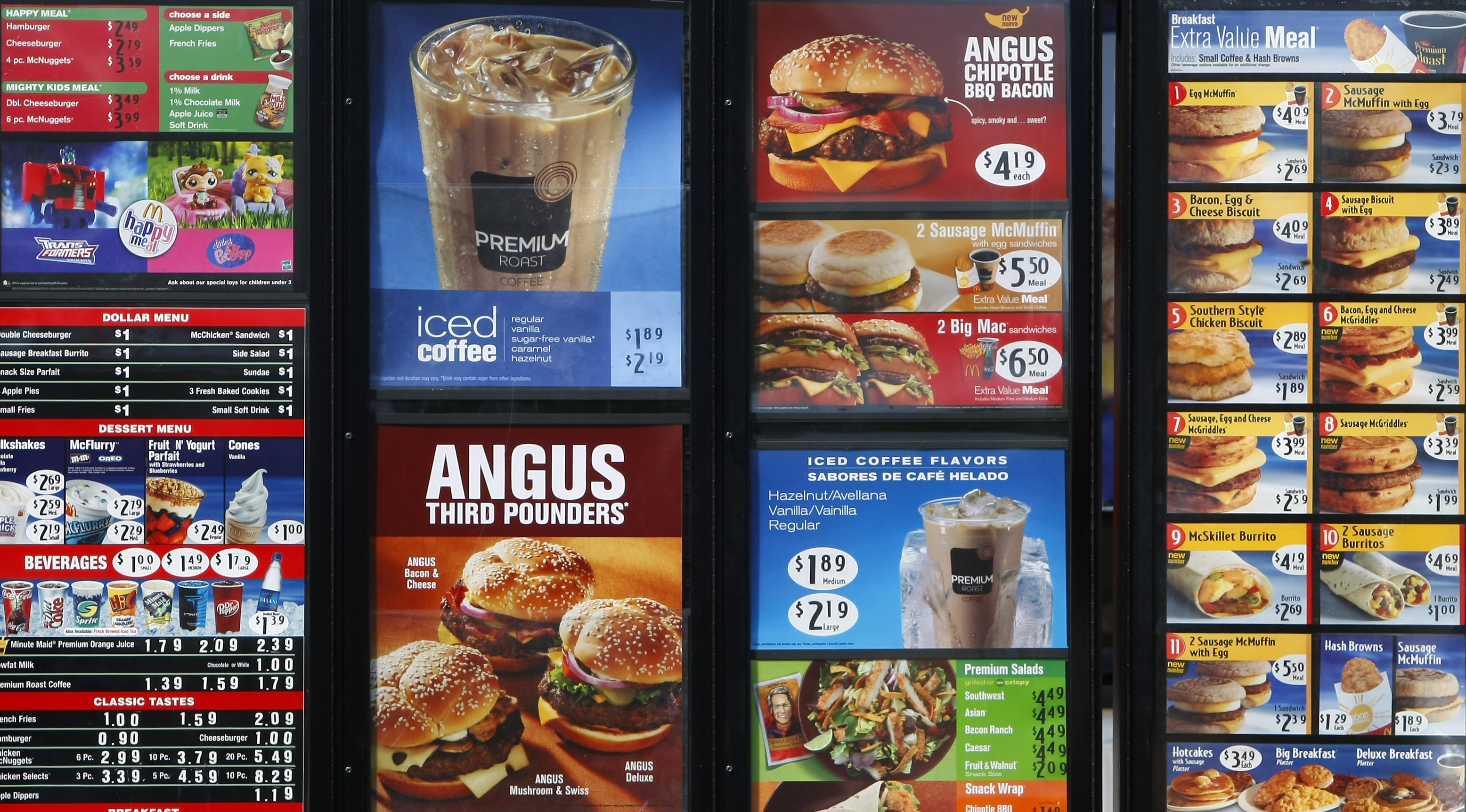 Fast Food Calorie Labeling Fails To Motivate Consumers To