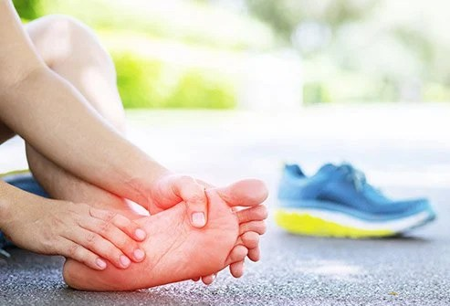 There are more than 30 joints in the ankle and feet.