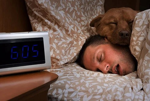 Getting up at your usual time is better for your stress levels than staying in bed longer in the morning.