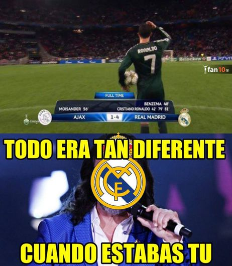 These Are The Best Memes Of The Real Madrid Bayern Munich Of Champions