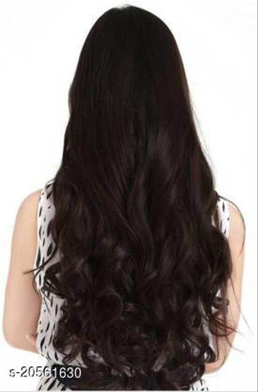 D-DIVINE Clip in wavy brown Hair Extension