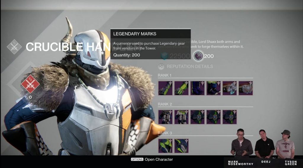 Destiny: Live-Stream über Die Spiel-Systeme Am 19.8., Wir